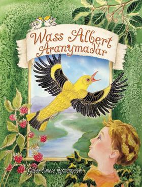Wass Albert - Aranymadár - Művészi kifestő