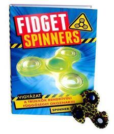 Fidget Spinners - Vigyázat - A trükkök rendkívüli függőséget okoznak!!! + hozzácsomagolva egy jó minőségű, acélcsapágyas fidget spinner