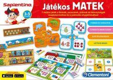 Sapientino Játékos Matek fejlesztő társasjáték