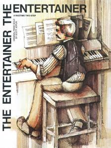 JOPLIN - THE ENTERTAINER. A RAGTIME TWO-STEP. ORIGIAN PIANO SOLO BY SCOTT JOPLIN