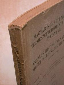 Endrődi S. - Magyar Nemzeti Múzeum-Természettudományi Múzeum Évkönyve 1953 [antikvár]