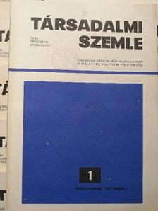 Aczél György - Társadalmi Szemle 1977. január-december [antikvár]