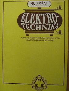 Dr. Ginsztler János - Elektrotechnika 1991/9. [antikvár]