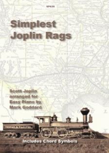 JOPLIN - SIMPLEST JOPLIN RAGS ARR. FOR EASY PIANO BY MARK GODDARD