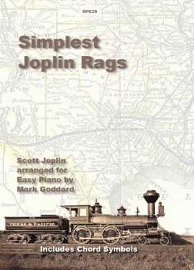 JOPLIN - SIMPLEST JOPLIN RAGS ARR. FOR EASY PIANO BY MARK GODDARD