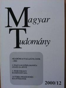 Almási Miklós - Magyar Tudomány 2000. december [antikvár]