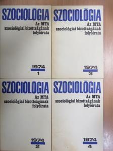 Andics Jenő - Szociológia 1974/1-4. [antikvár]