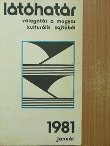 Csató Károly - Látóhatár 1981. január [antikvár]