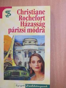 Christiane Rochefort - Házasság párizsi módra [antikvár]
