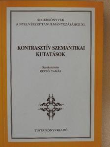 Andor József - Kontrasztív szemantikai kutatások [antikvár]