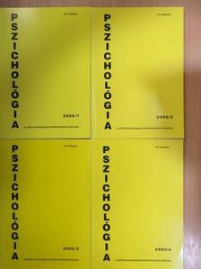 László János - Pszichológia 2005/1-4. [antikvár]