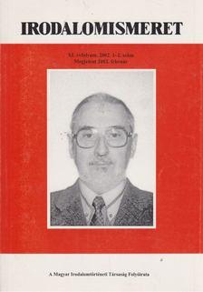 Bécsy Tamás - Irodalomismeret XI. ébf. 2002. 1-2. szám [antikvár]