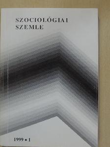 Blaskó Zsuzsa - Szociológiai szemle 1999/1. [antikvár]