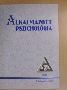 Bugán Antal - Alkalmazott Pszichológia 1999/4. [antikvár]