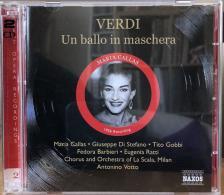 Verdi - UN BALLO IN MASCHERA 2CD CALLAS,DI STEFANO,GOBBI