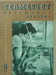 Antall József - Természettudományi Közlöny 1966. május [antikvár]