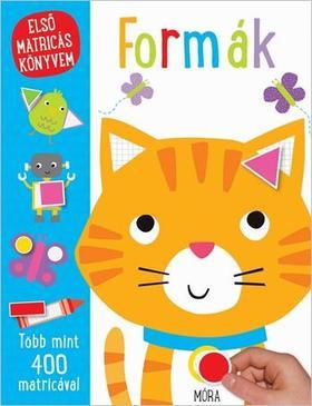Formák - első matricás könyvem
