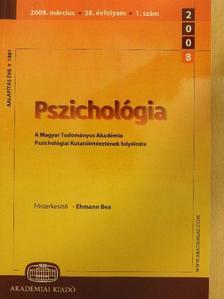 Bárdos György - Pszichológia 2008. szeptember [antikvár]