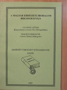 Balogh Ferencné - A magyar erdészeti irodalom bibliográfiája [antikvár]