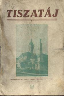 Tiszatáj 1956. április X. évfolyam 2. [antikvár]