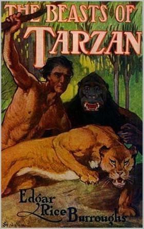 Edgar Rice Burroughs - The Beasts of Tarzan [eKönyv: epub, mobi]
