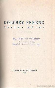 Kölcsey Ferenc - Kölcsey Ferenc összes művei III. [antikvár]