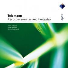 TELEMANN - RECORDER SONATAS AND FANTASIAS CD FRANS BRÜGGEN