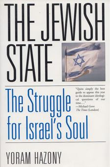 Yoram Hazony - The Jewish State [antikvár]
