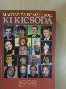 Balázs Géza - Magyar és nemzetközi ki kicsoda 1998 [antikvár]