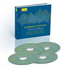 TCHAIKOVSKY, MENDELSSOHN, BEETHOVEN - VERBIER FESTIVAL - 25 YEARS OF EXCELLENCE 4CD