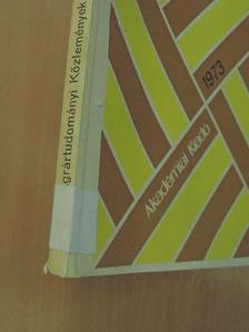 Albert Nándor - Agrártudományi Közlemények 1973/1-2. [antikvár]