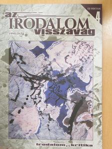 Bo Hr. Hansen - Az irodalom visszavág 1999. ősz [antikvár]