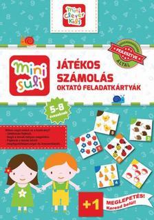 Mini Suli Játékos Számolás - feladatlap - 5-8 éveseknek