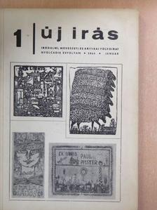 Ágh István - Új Írás 1968. január [antikvár]
