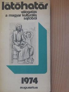 Ferge Zsuzsa - Látóhatár 1974. augusztus [antikvár]