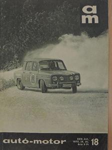 Csányi Péter - Autó-Motor 1972. szeptember 21. [antikvár]