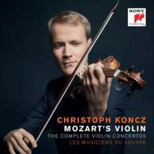 MOZART - THE COMPLETE VIOLIN CONCERTOS 2CD CHRISTOPH KONCZ