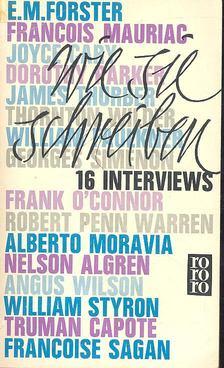Cowley, Malcolm - Wie sie schreiben - Sechzehn Interviews [antikvár]