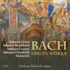 Bach - ORGAN WORKS 2CD STEFANO MOLARDI