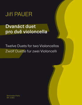 PAUER, JIRI - TWELVE DUETS FOR TWO VIOLONCELLOS