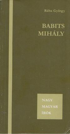 Rába György - Babits Mihály [antikvár]