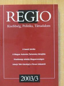 Gagyi József - Regio 2003/3. [antikvár]
