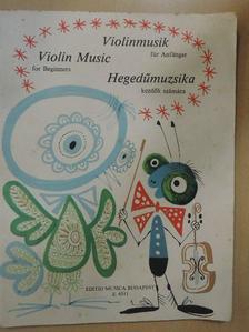 Carl Maria Weber - Hegedűmuzsika kezdők számára [antikvár]
