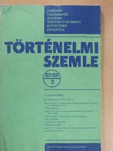 Balogh Júlia - Történelmi Szemle 1987-88/3. [antikvár]