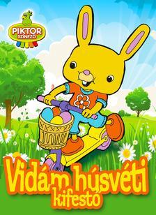 - - Vidám húsvéti kifestő
