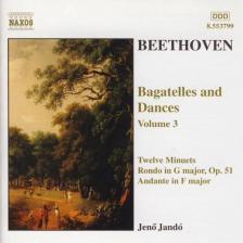 BEETHOVEN - BAGATELLES AND DANCES VOL.3 CD