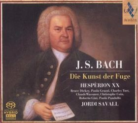 Bach - DIE KUNST DER FUGE BWV 1080 SACD (HESPÉRION XX, JORDI SAVALL)