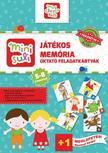 Mini Suli Játékos Memória - feladatlap - 5-8 éveseknek
