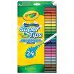 24 db Crayola kimosható vékony filctoll