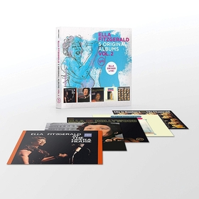 5 ORIGINAL ALBUMS VOL.2 5CD ELLA FITZGERALD